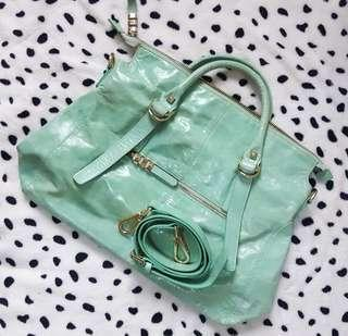 Two way Bag genuine leather