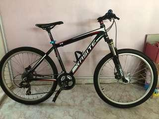 Used mountain bike