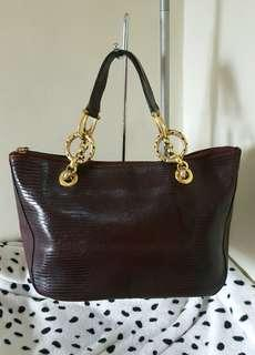 Hand carry Bag Real Leather