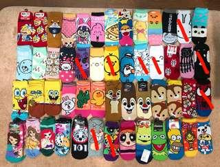 Assorted Cartoon Socks