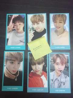 WANNA ONE Fankit membership official photocards