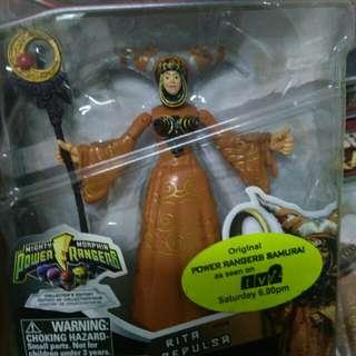 New Rita repulsa action figure Mighty morphin power rangers