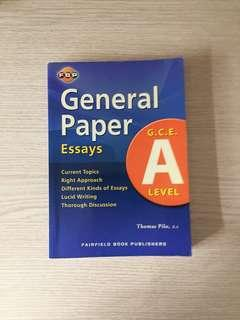 A Level General Paper revision book