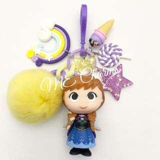 Funko Pop Disney Frozen Princess Anna Bag Charms / Fobs