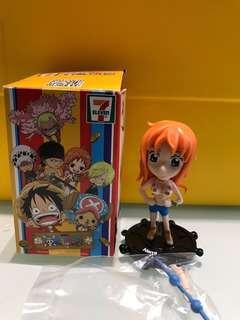 7-11海賊王公仔 One Piece 奈美 Seven Eleven