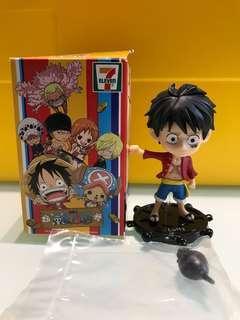 7-11 海賊王公仔 One Piece Luffy 路飛