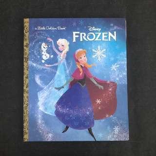 💥 NEW -  Frozen Story book - A Little Golden book - Children Story Book