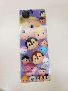 Disney Tsum Tsum bookmark 書簽