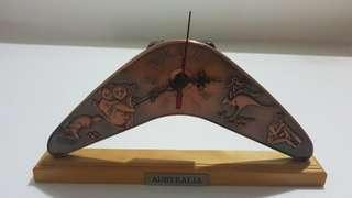 Table clock from Australia