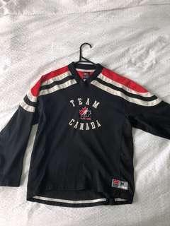 Vintage Team Canada Nike jersey