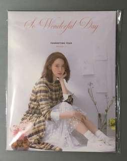 Yoona Postcard and Sticker Set