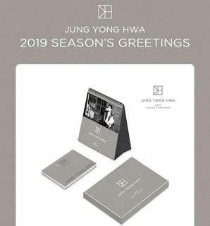 JUNG YONG HWA(CNBLUE) 2019 Season's Greetings