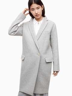 Aritzia Babaton Grey Wintour Coat