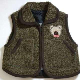 🚚 童裝 秋冬款 刷毛 厚 上衣 背心 外套