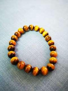 Genuine tiger eyes bracelet