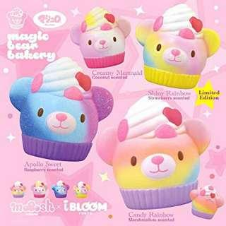 😱超平 rare ibloom magic bear bakery squishy