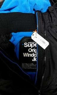 🚚 現貨superdry防風外套