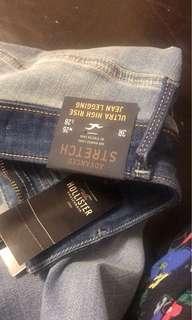 Hollister 貼身牛仔褲