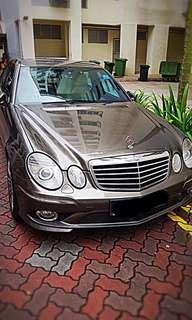 Mercedes E230 for rent