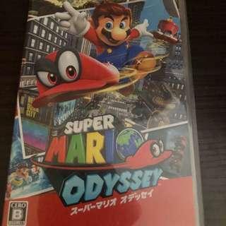 Switch Mario Odyssey 只玩過一次