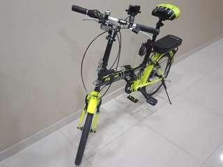 Foldable bicycle [pending]