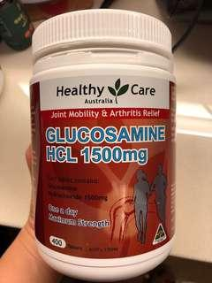 Health Care Glucosamine HCL 1500mg 400 pcs 骨丸