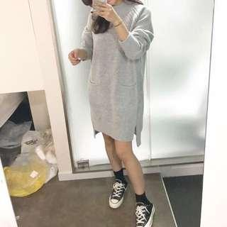 正韓 毛衣洋裝