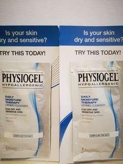*FREE SHIPPING* Physiogel Dailly Moisture Therapy Dermo-Cleanser Sample 10ml