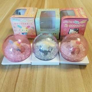 Sanrio裝飾球(一套三個)
