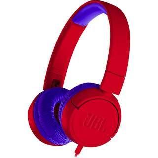 JBL JR300 Headphones (Red) #XMAS25