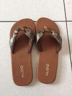 全新專櫃ALDO 夾腳涼鞋