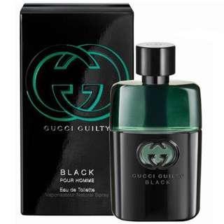 Gucci Guilty Black Edt 90ml Men Perfume