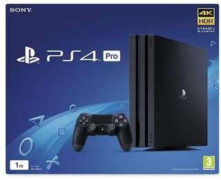 Ps4 Pro NEW 1 years official Malaysia Warranty