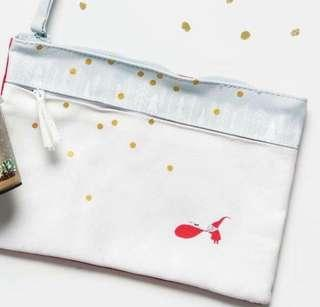 Starbucks Christmas 2018 Christmas collection zipped pouch