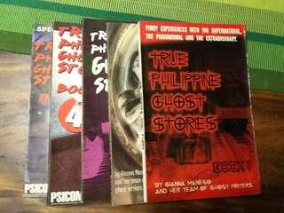First Five 5 Issues of Philippine Ghost Stories
