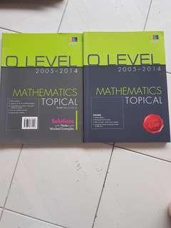O level math TYS