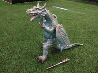Vintage toy vinyl dragon