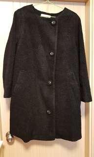 🐑franche lippee🍓  黑絨褸 長外套