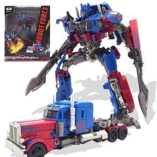 ROBOT TRANSFORMER MACHINE HERO OPTIMUS PRIME
