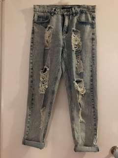 Mossman jeans size 12