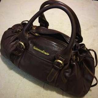 Italian Real Leather Handbag