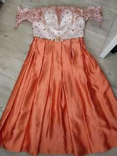 Sabrina dress payet