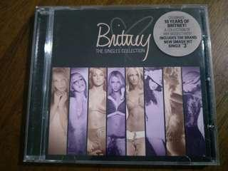Britney Spears Singles Collection CD