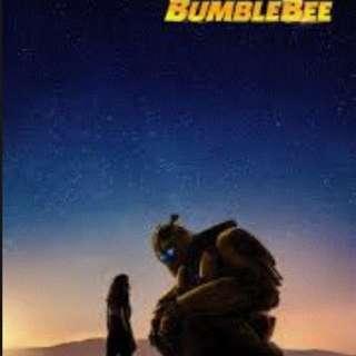 《大黃蜂 Bumblebee》 電影優先場 2張