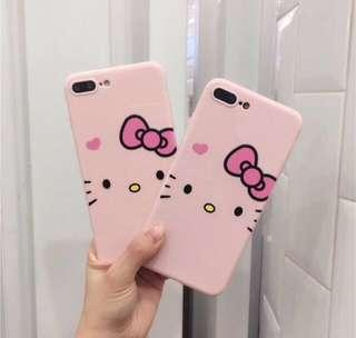 Cute Hello Kitty Pink Soft iPhone Case iPhone 6/6s