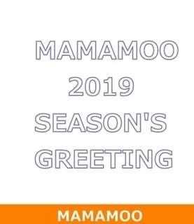 (WTB) MAMAMOO Season Greeting