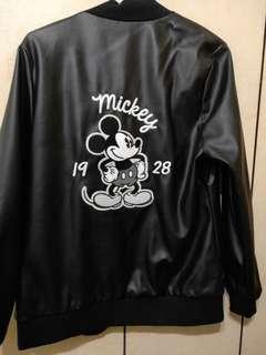 迪士尼 米奇 皮夾克