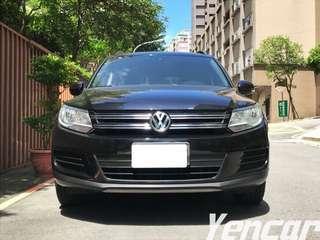 【阿彥嚴選認證車-Yencar】2014 Tiguan 車況優 (誠可議)、中古車、二手車、全額貸、車換車
