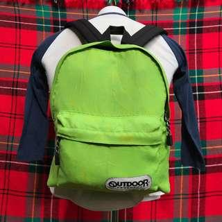 Outdoor Lime Green Bagpack