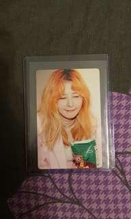 WTT/WTS red velvet smile box photocard